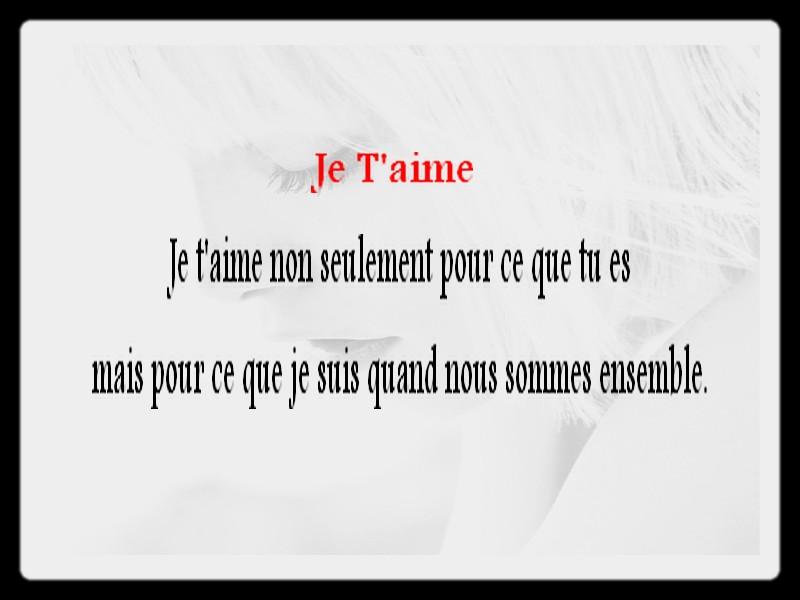 Connu Belles phrases d'amour XU68