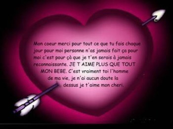Remarquable Belles phrases d'amour MH-37